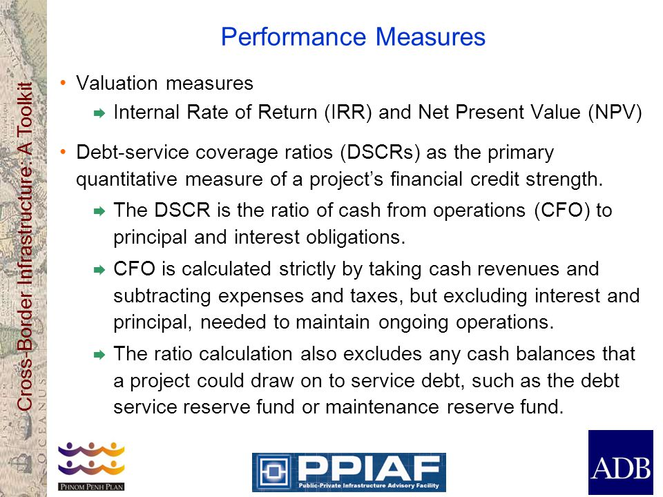 Performance Measures Valuation measures