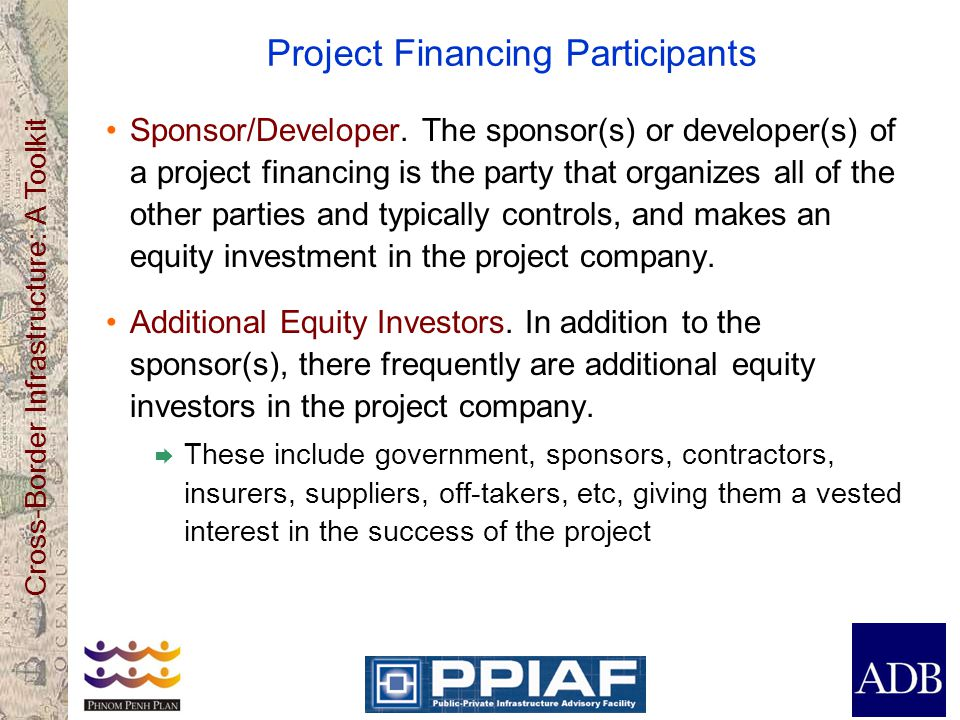 Project Financing Participants