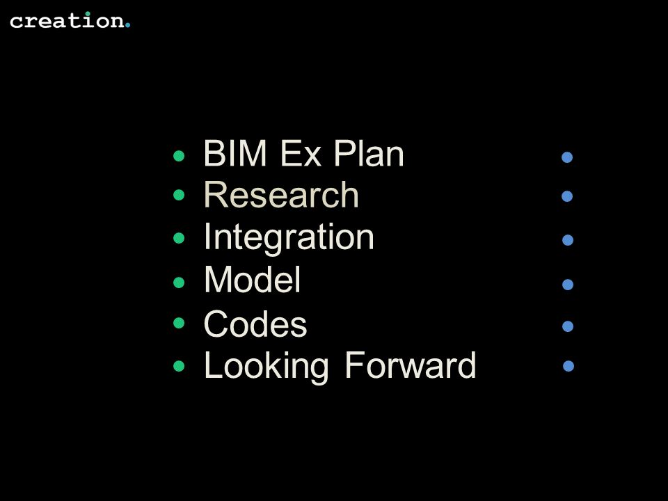 BIM Ex Plan Research Integration Model Codes Looking Forward
