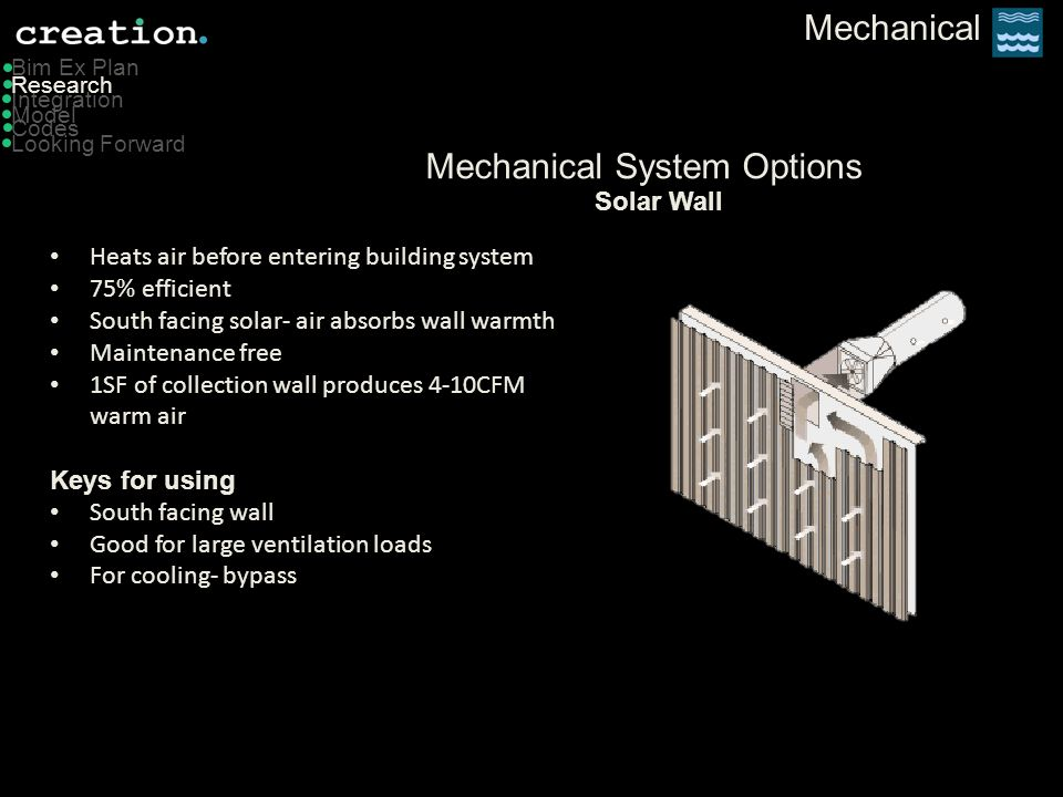 Mechanical System Options