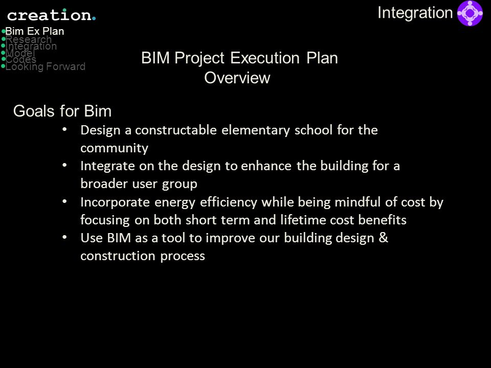 BIM Project Execution Plan Overview