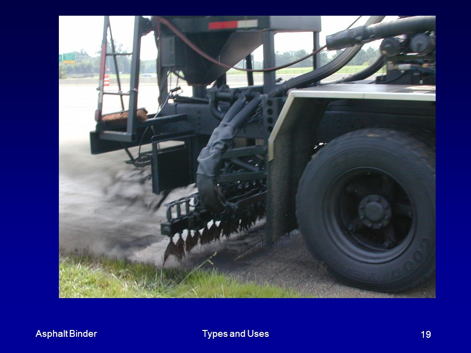 Asphalt Binder Types and Uses