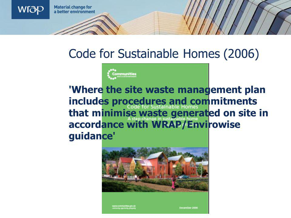 Code for Sustainable Homes (2006)