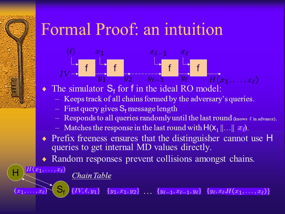 Formal Proof: an intuition