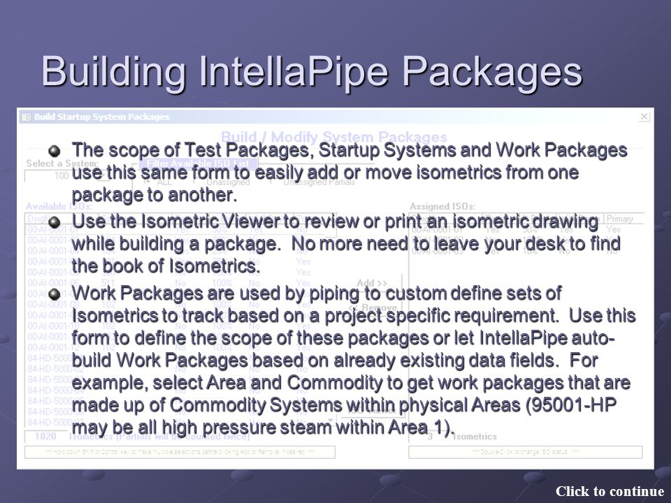 Building IntellaPipe Packages