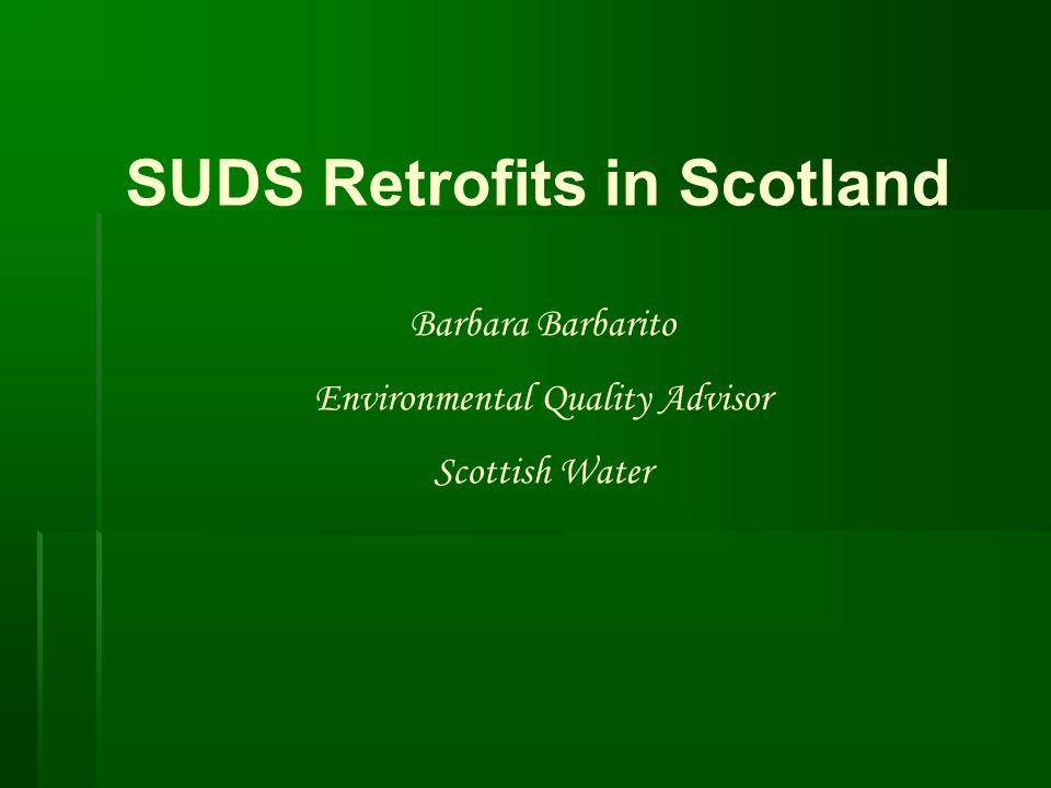 SUDS Retrofits in Scotland