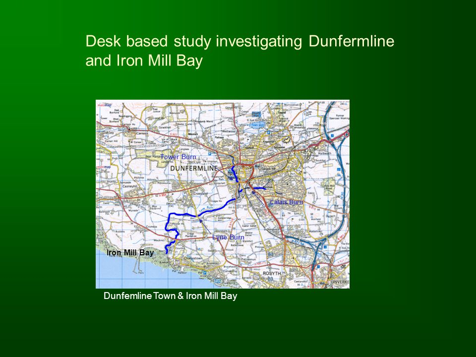 Desk based study investigating Dunfermline and Iron Mill Bay