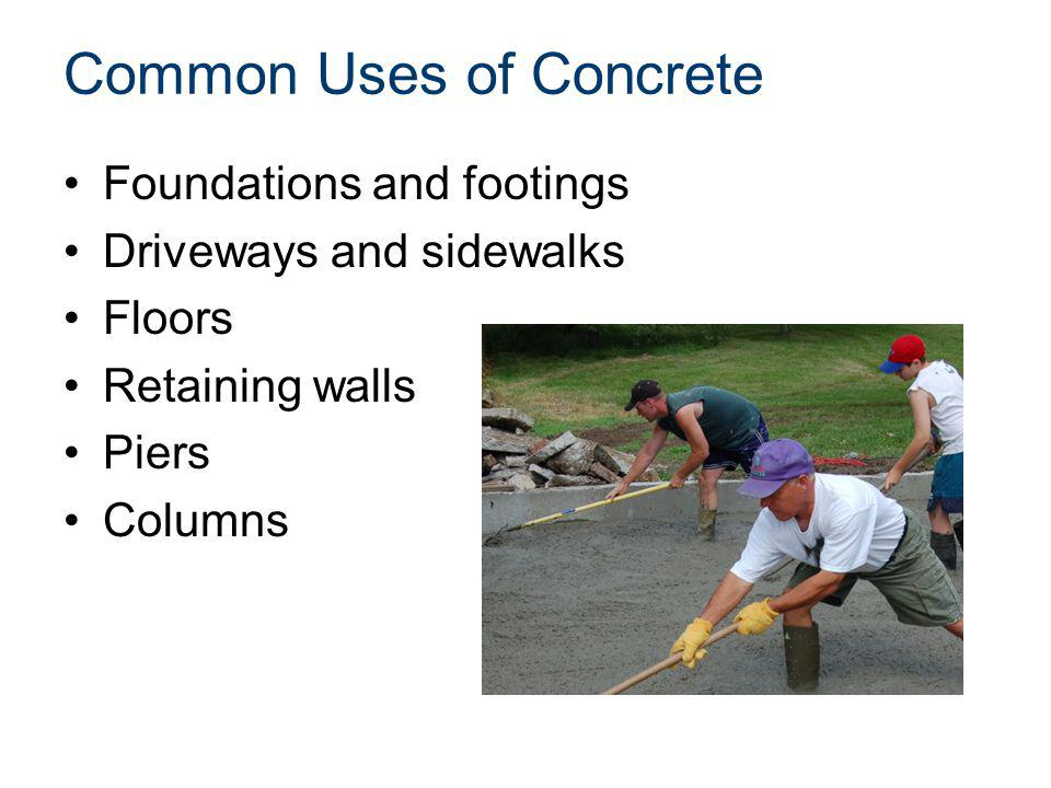 Common Uses of Concrete