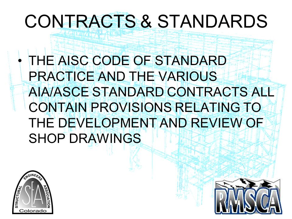 CONTRACTS & STANDARDS