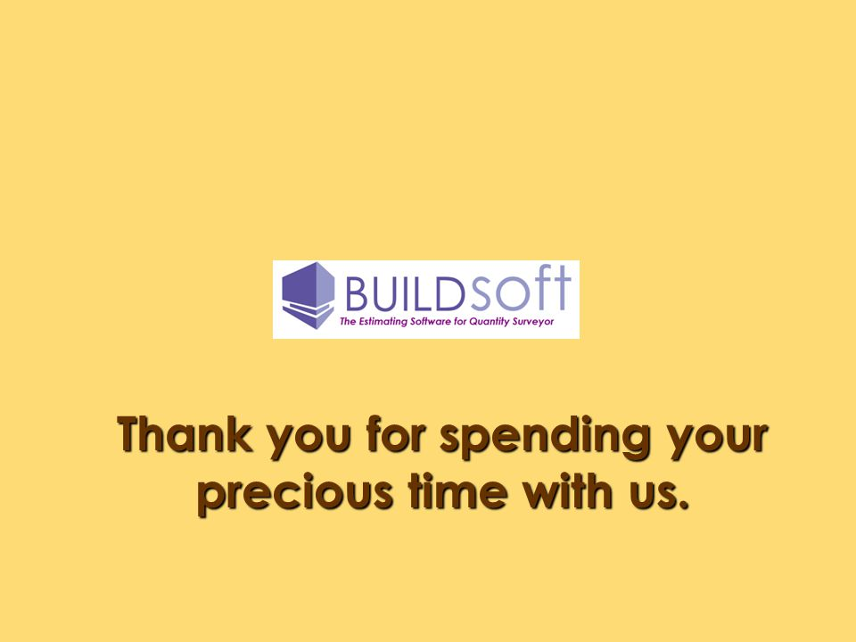 Thank you for spending your precious time with us.