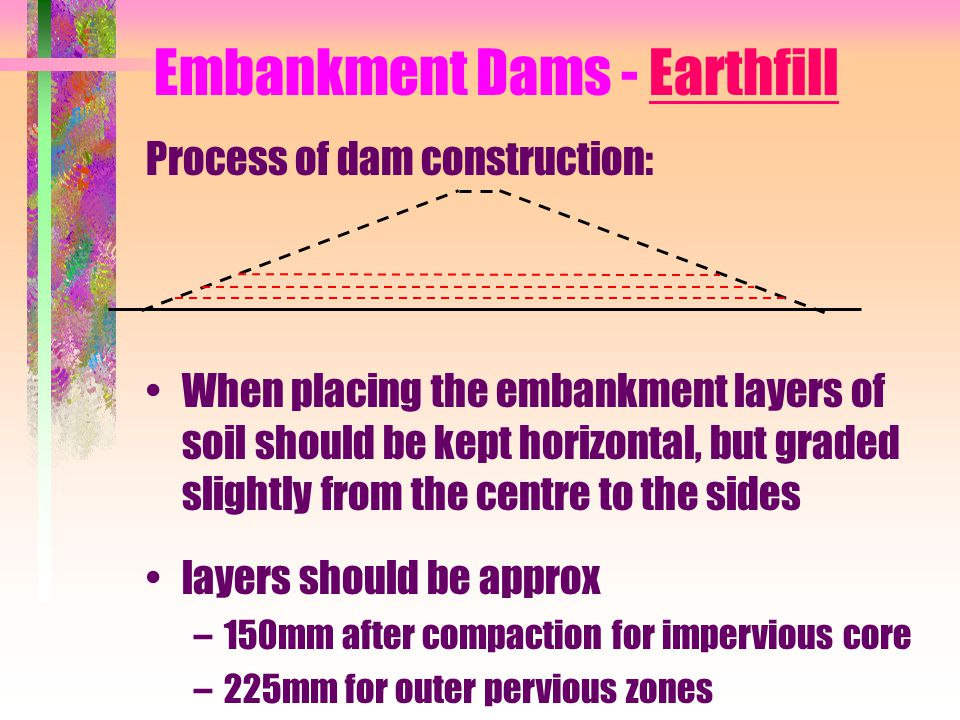 Embankment Dams - Earthfill