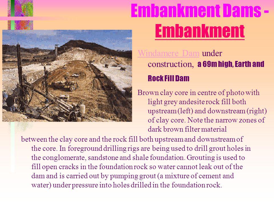 Embankment Dams - Embankment