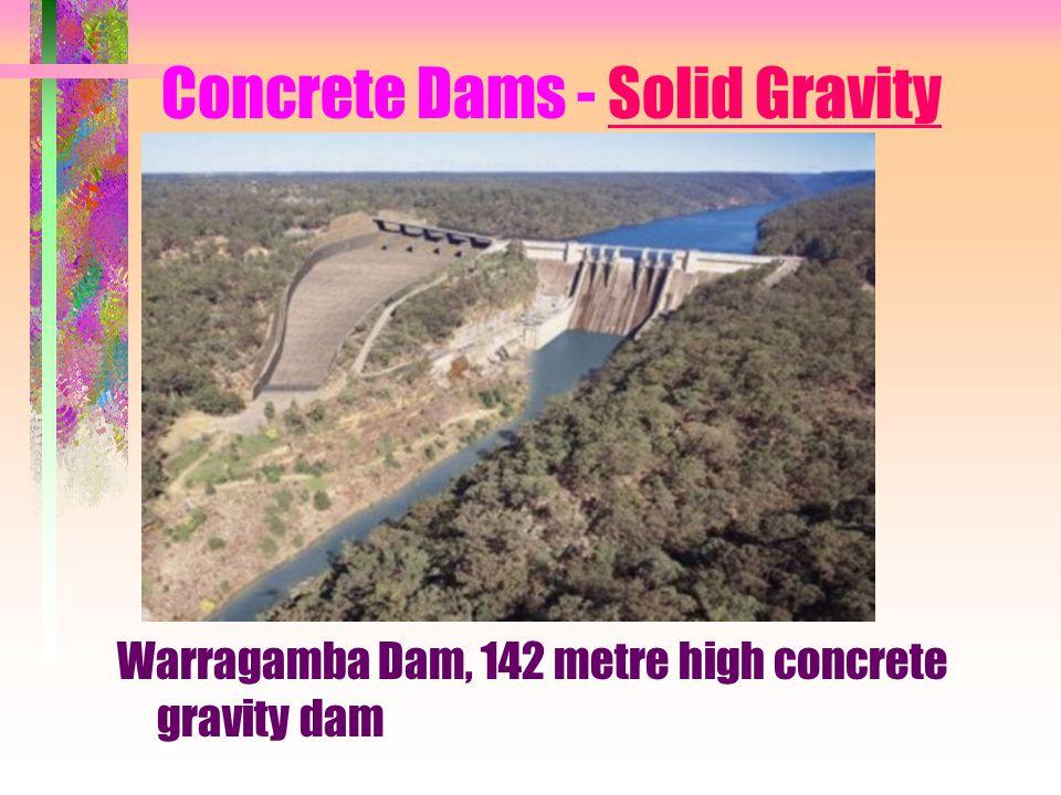 Concrete Dams - Solid Gravity