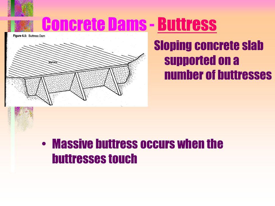 Concrete Dams - Buttress