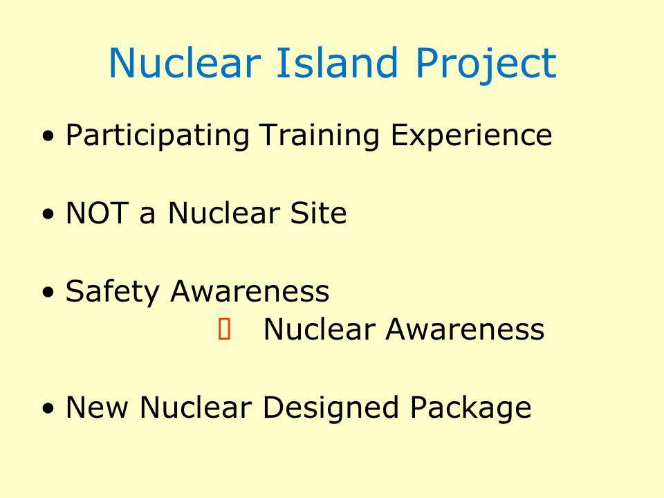 Nuclear Island Project
