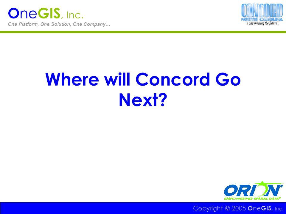 Where will Concord Go Next