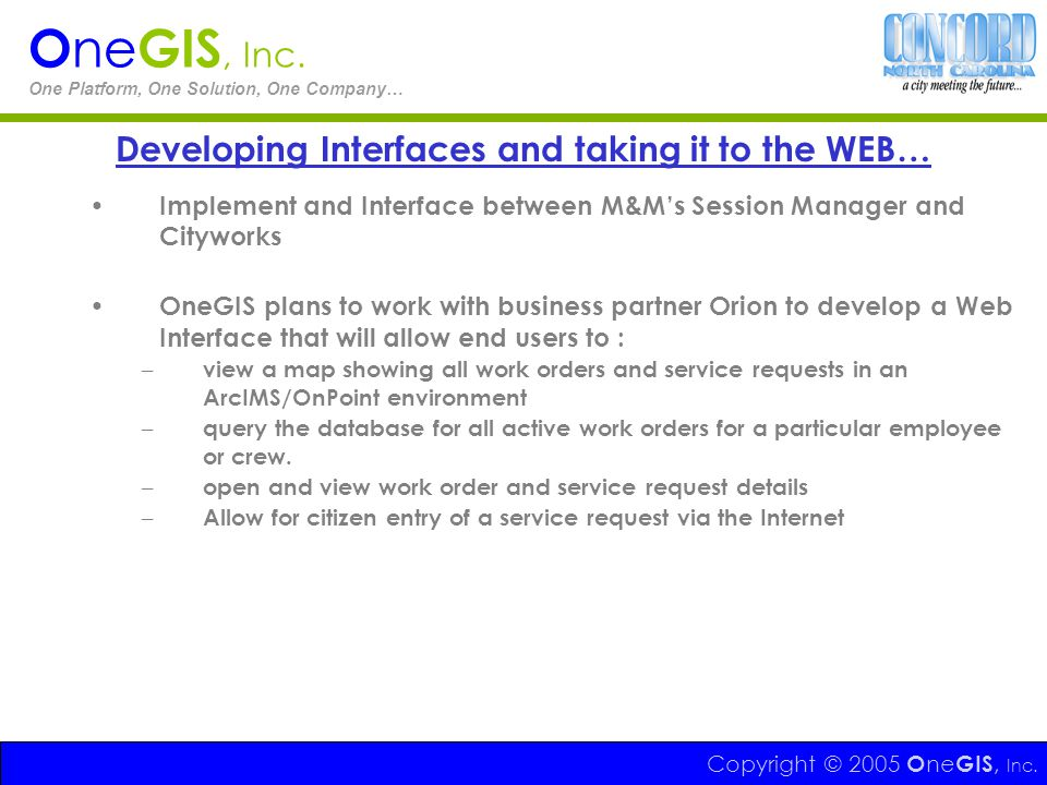 Developing Interfaces and taking it to the WEB…
