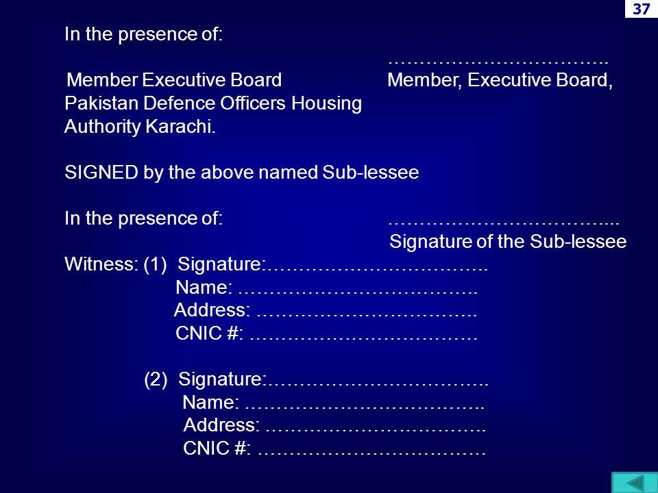 Member Executive Board Member, Executive Board,
