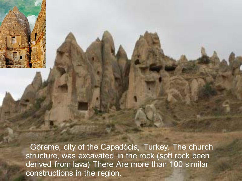 Göreme, city of the Capadócia, Turkey
