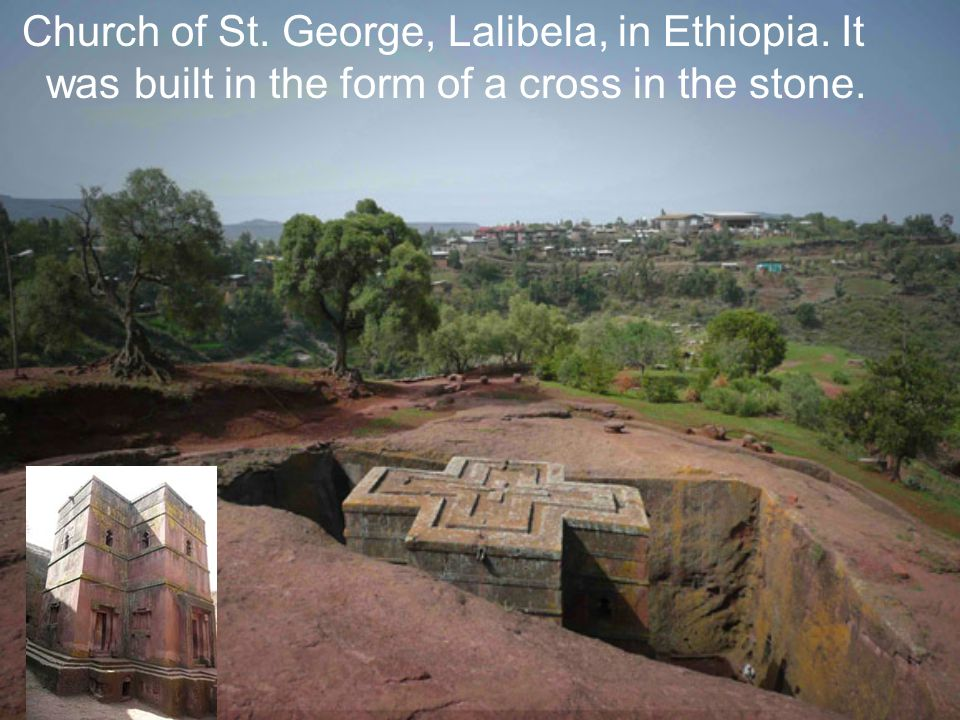 Church of St. George, Lalibela, in Ethiopia