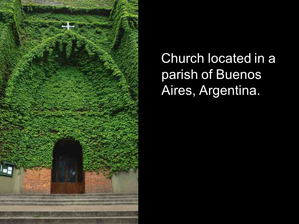 Church located in a parish of Buenos Aires, Argentina.