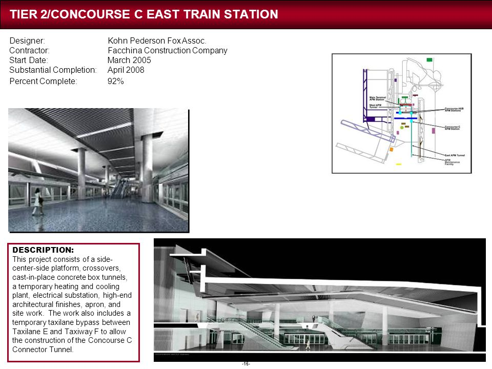 TIER 2/CONCOURSE C TRAIN STATIONS