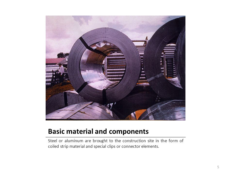 Basic material and components