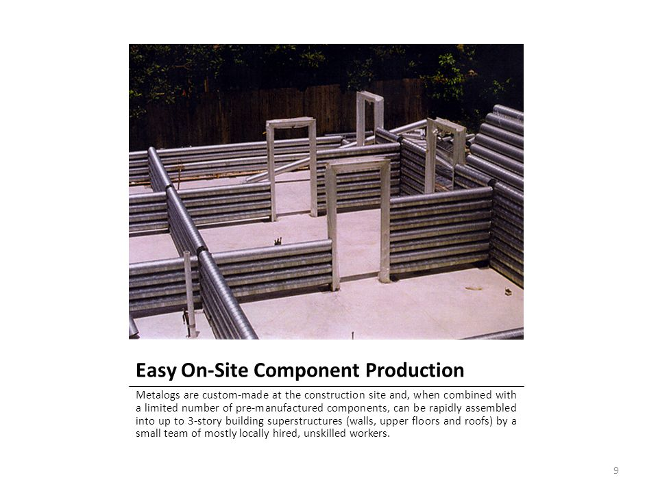 Easy On-Site Component Production