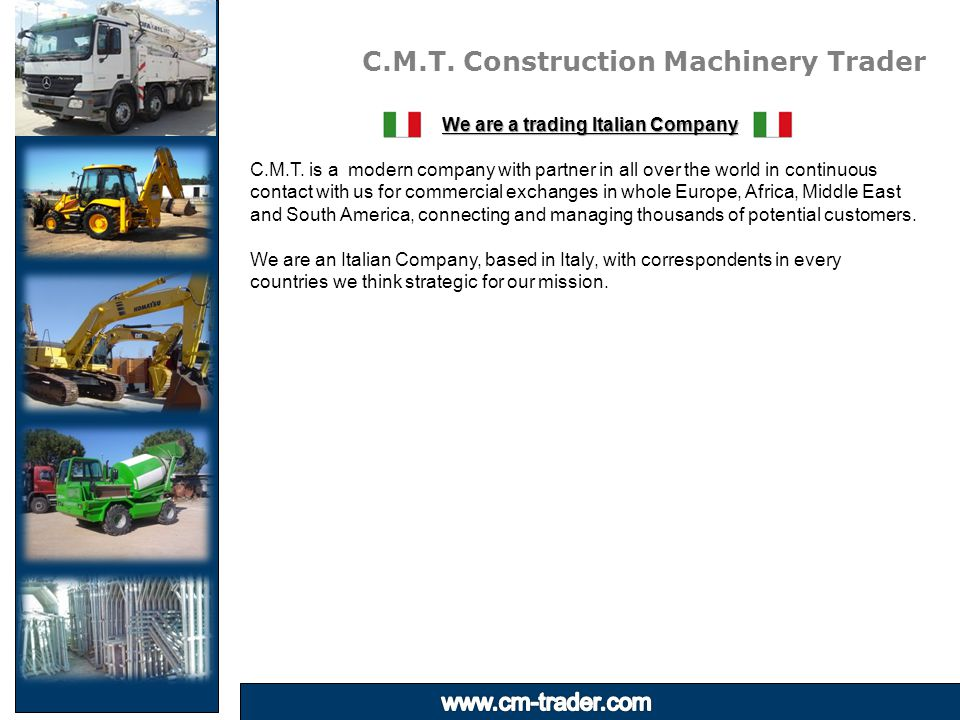 C.M.T. Construction Machinery Trader