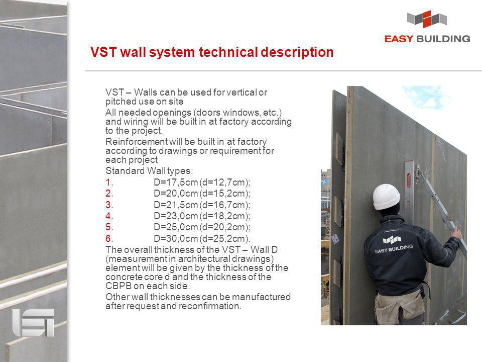 VST wall system technical description