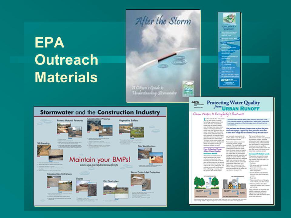 EPA Outreach Materials