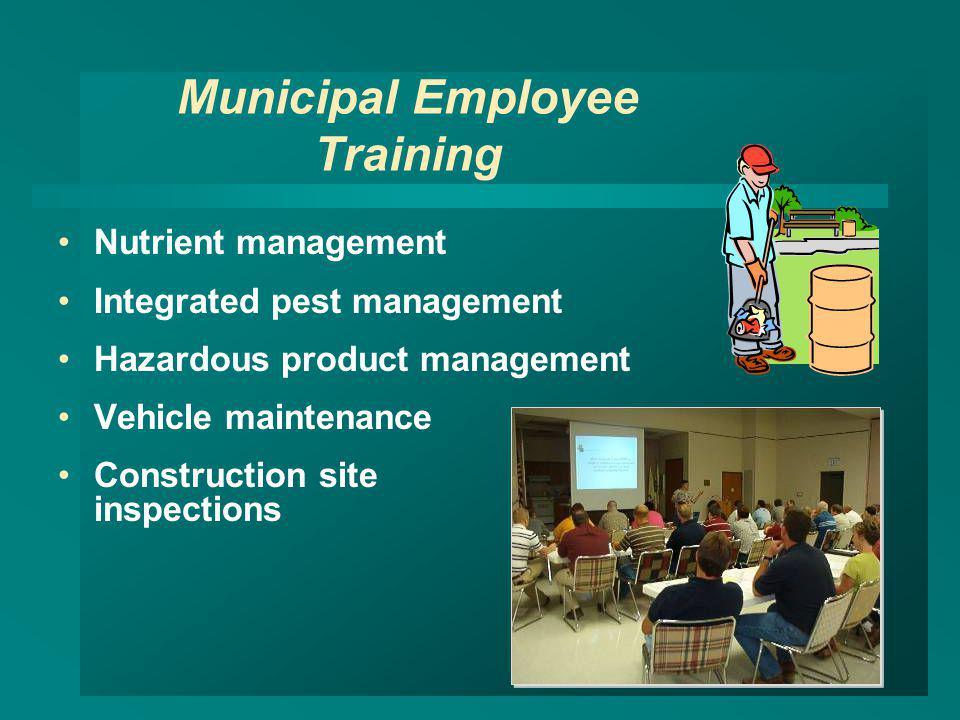 Municipal Employee Training