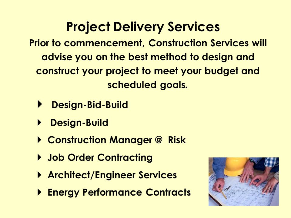 Project Delivery Services