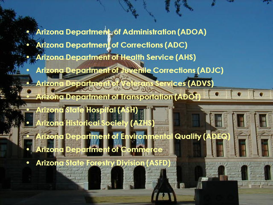 Arizona Department of Administration (ADOA)