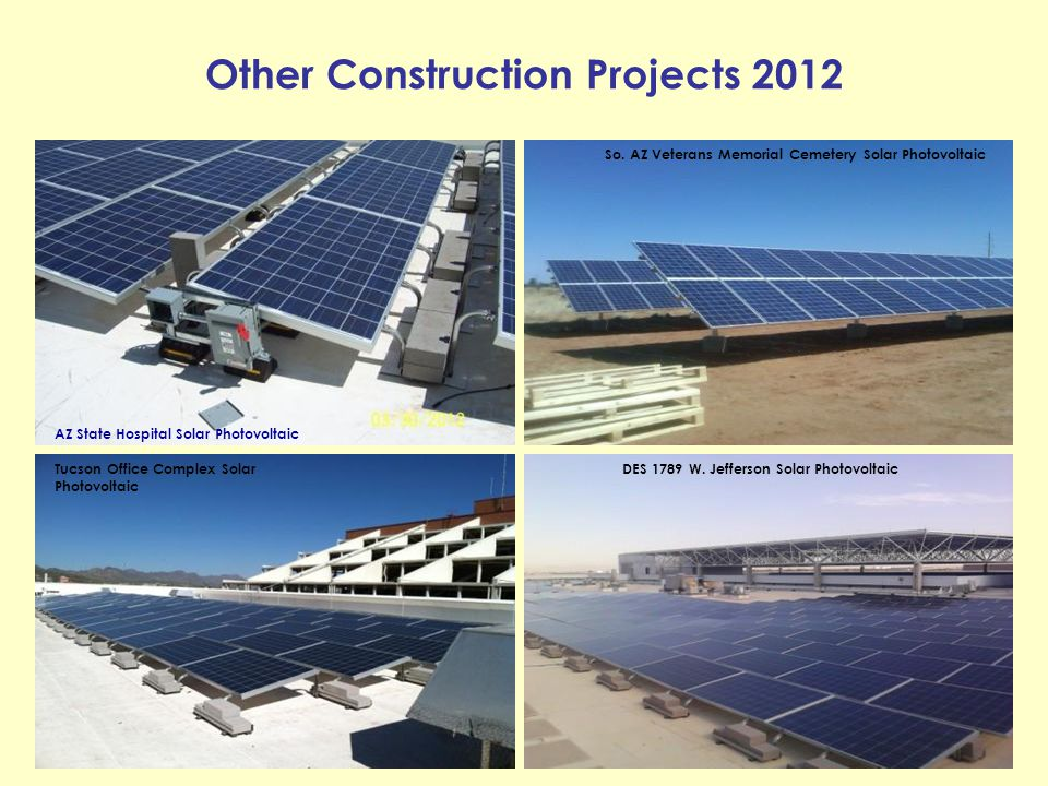 Other Construction Projects 2012