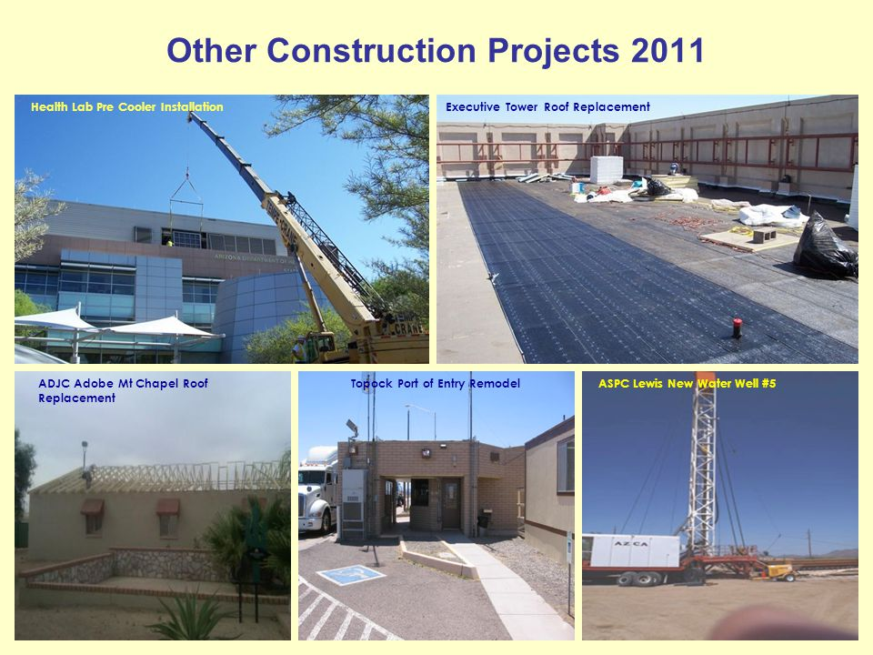 Other Construction Projects 2011