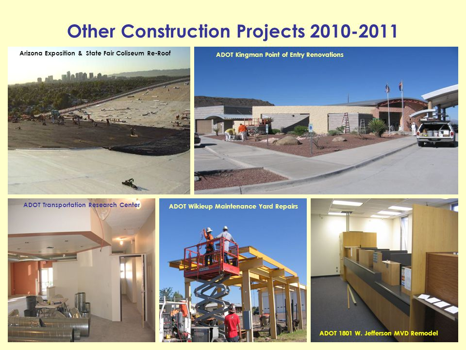 Other Construction Projects 2010-2011