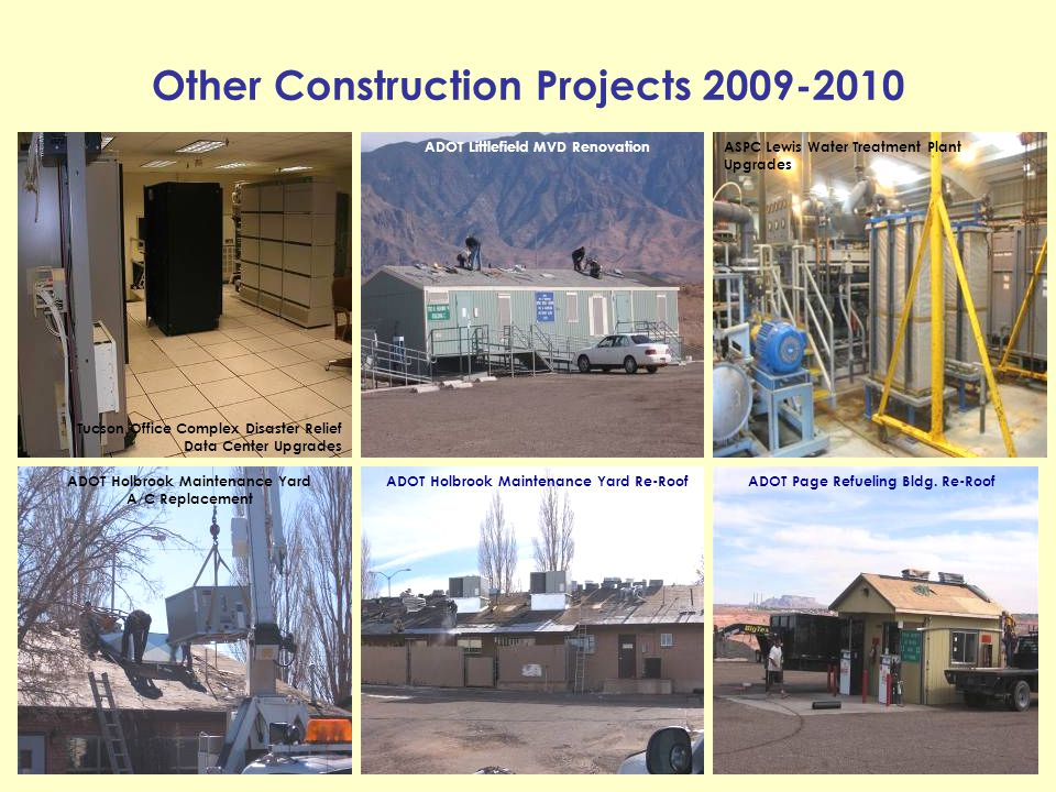 Other Construction Projects 2009-2010