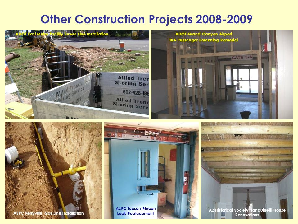 Other Construction Projects 2008-2009