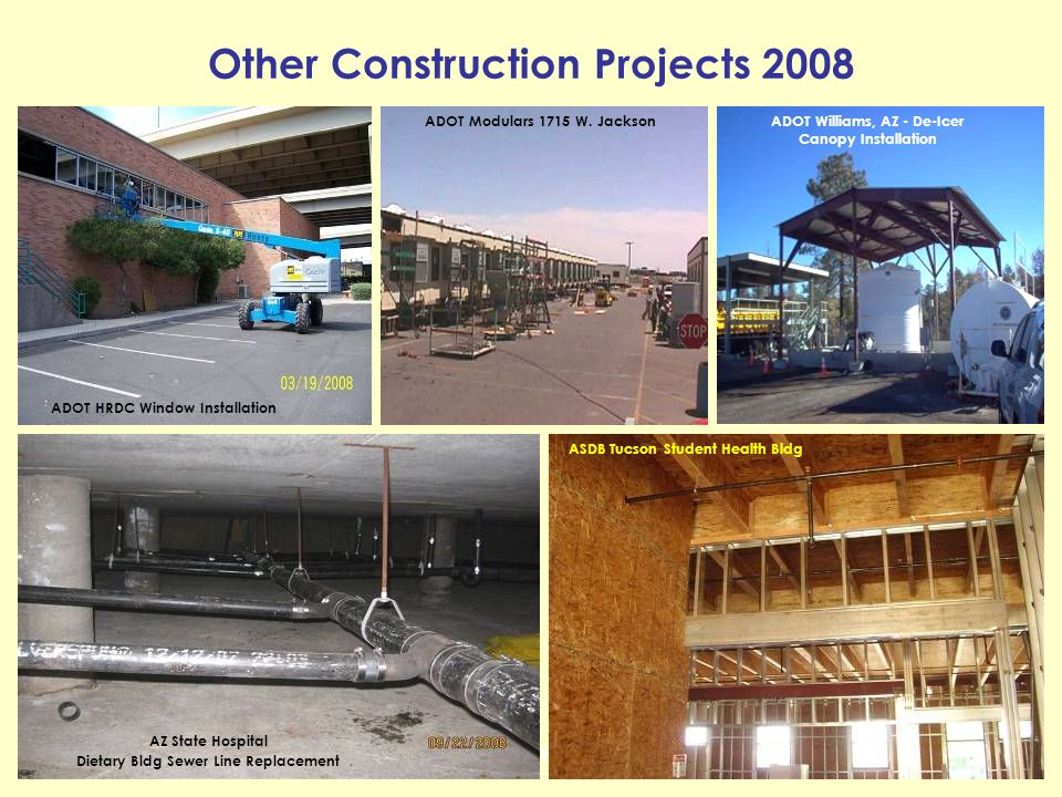 Other Construction Projects 2008