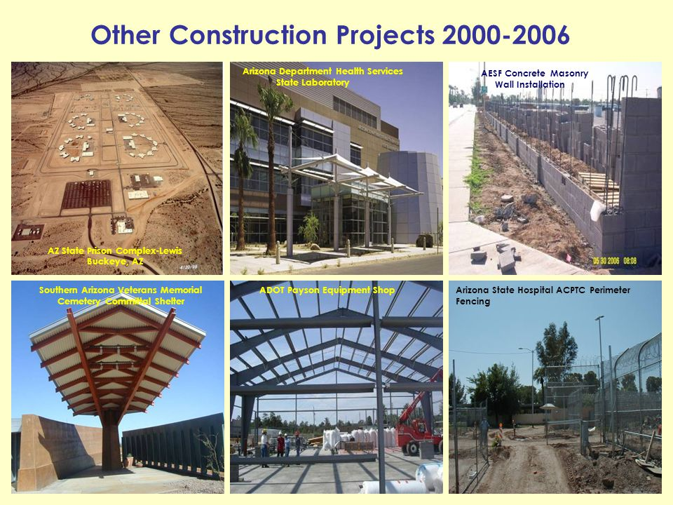 Other Construction Projects 2000-2006