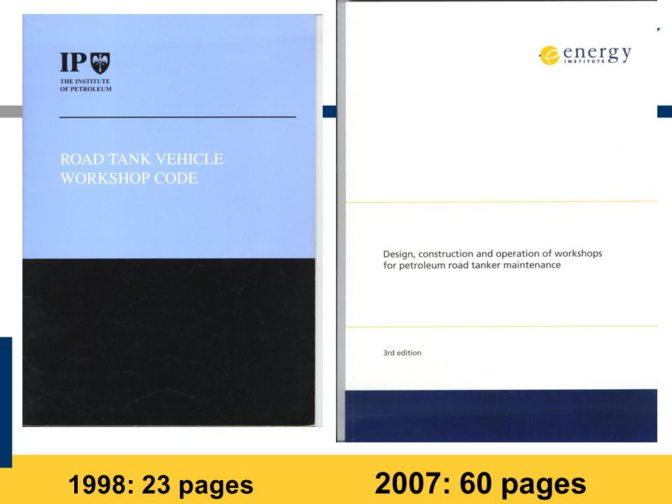 1998: 23 pages 2007: 60 pages