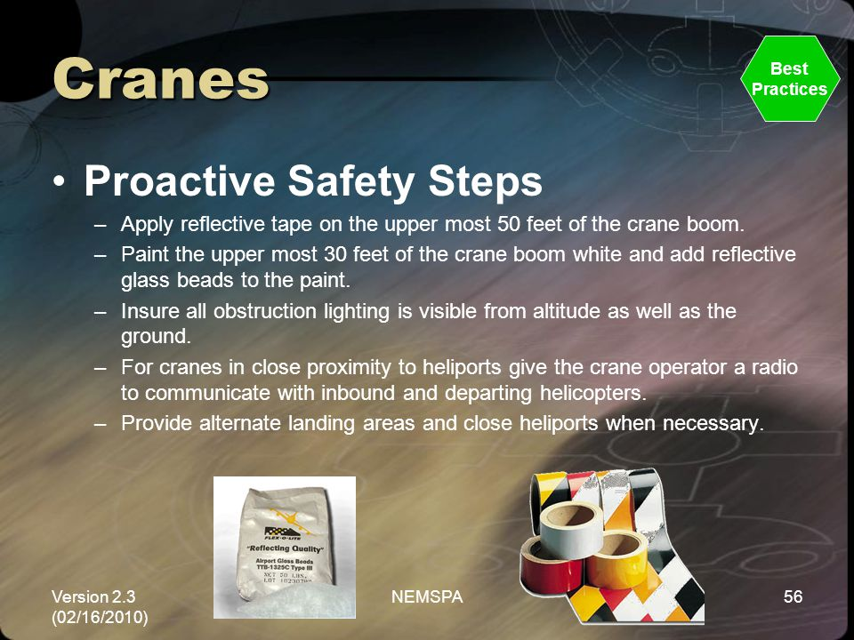 Cranes Proactive Safety Steps