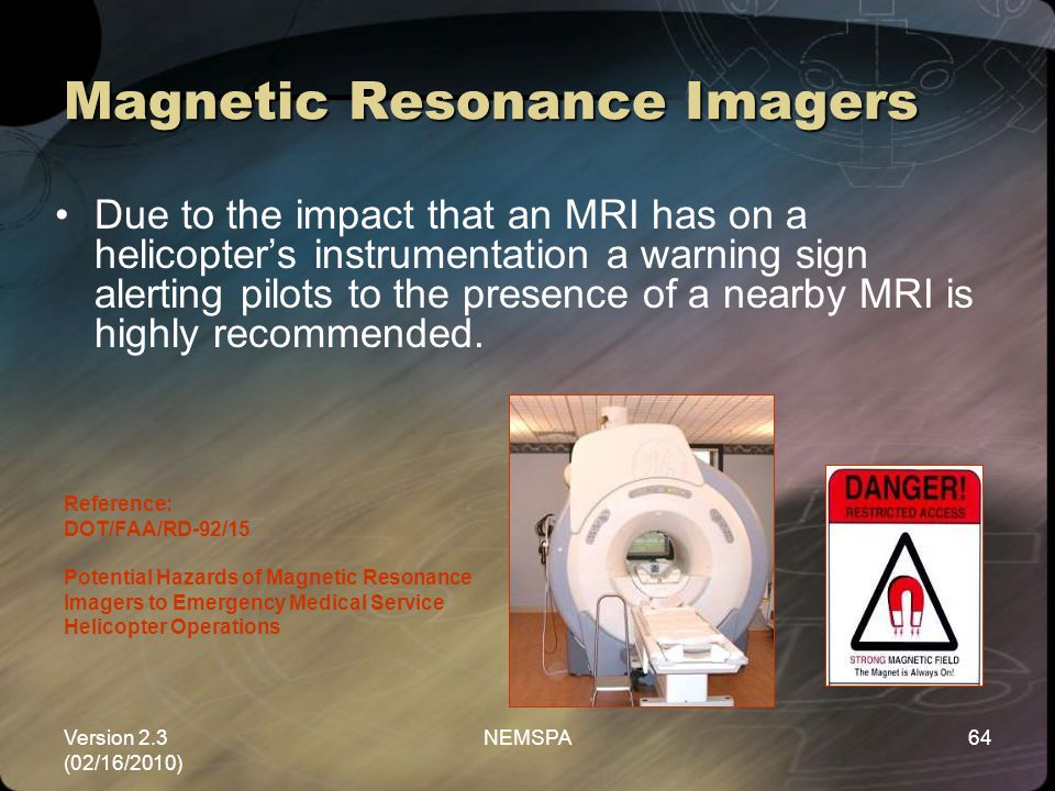 Magnetic Resonance Imagers