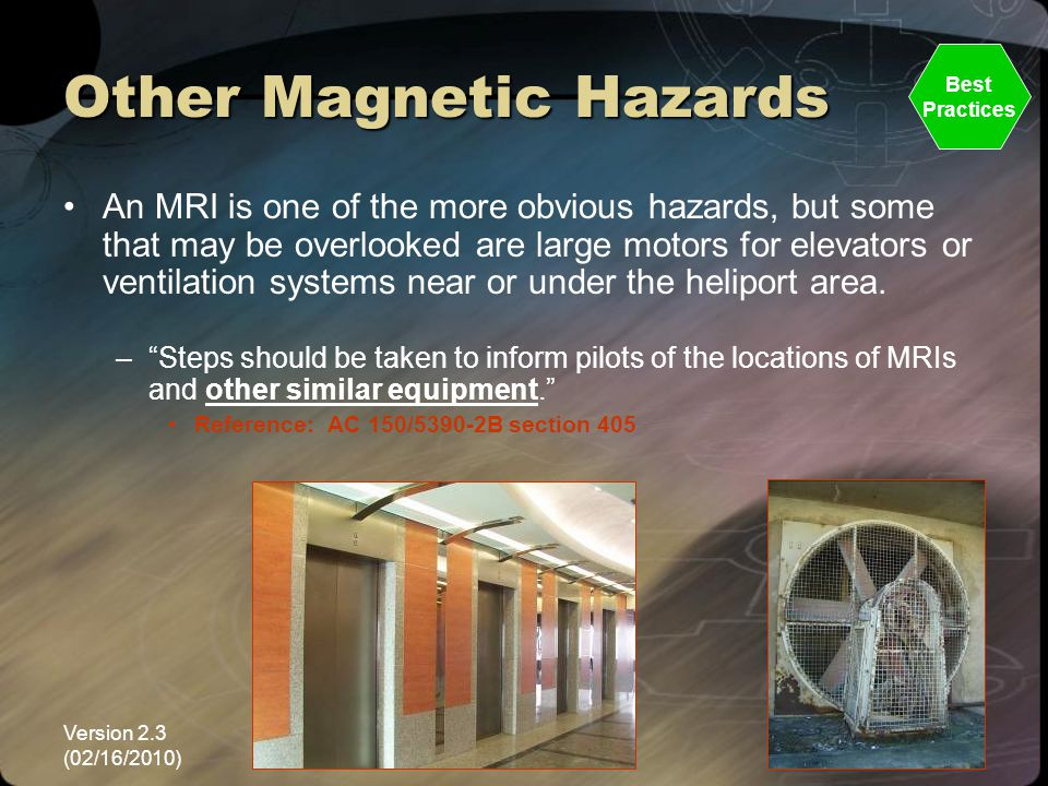 Other Magnetic Hazards