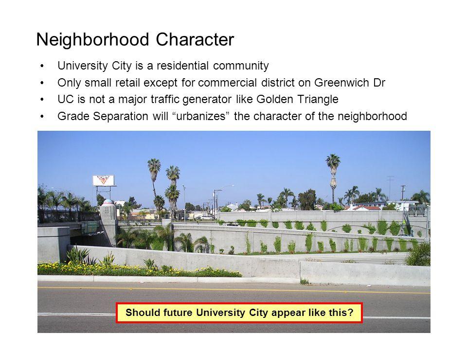 Neighborhood Character