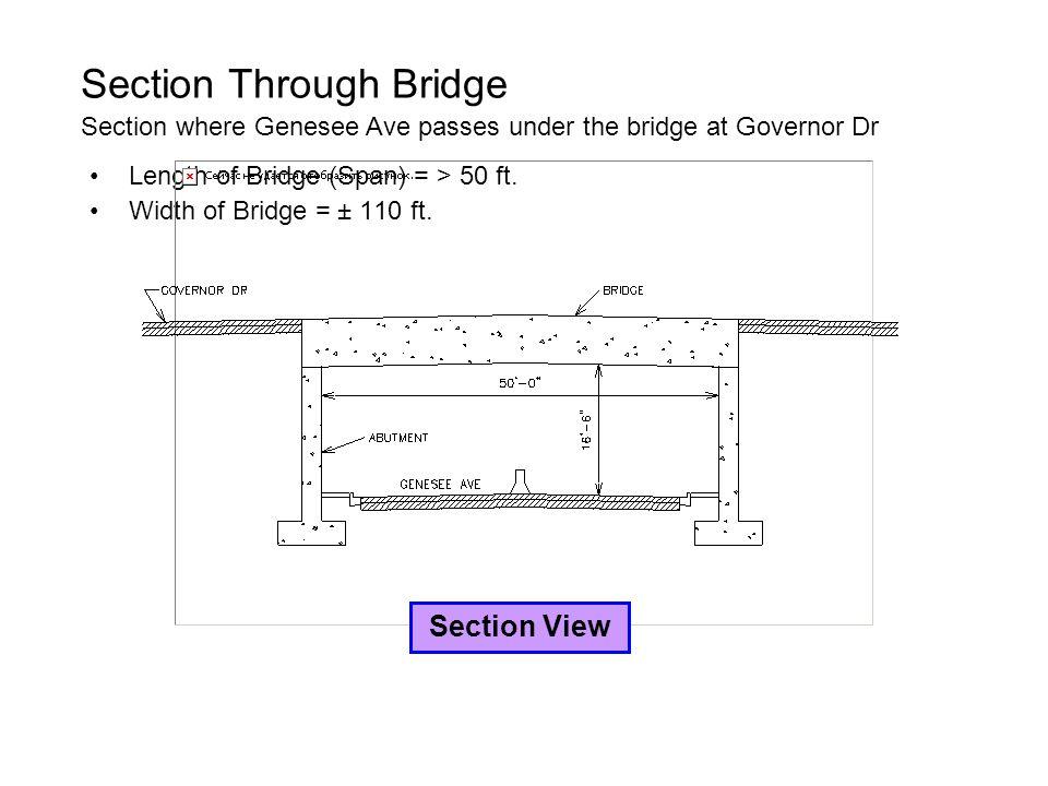 Section Through Bridge