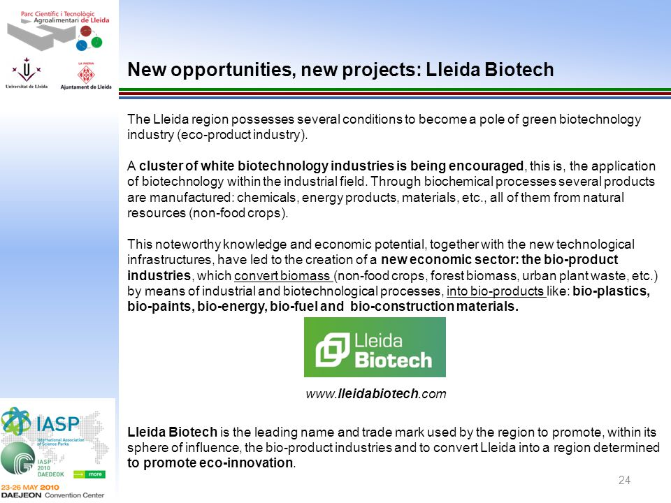 New opportunities, new projects: Lleida Biotech