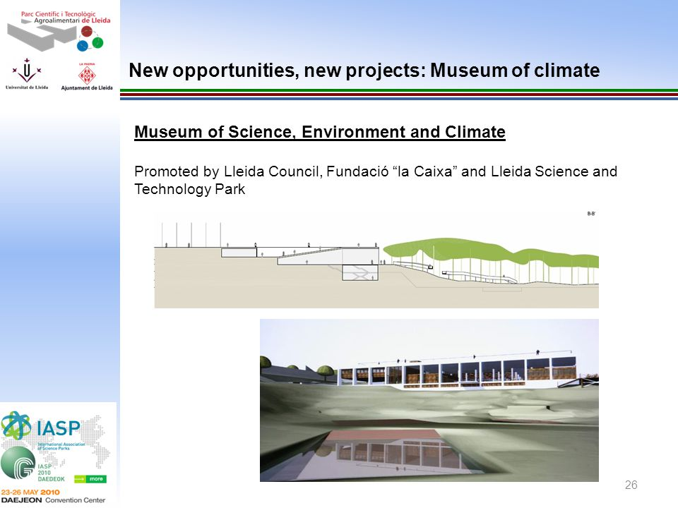 New opportunities, new projects: Museum of climate