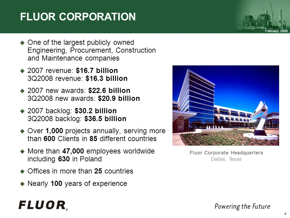 Fluor Corporate Headquarters